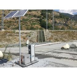 Mobile Schranke MoBa Solar...